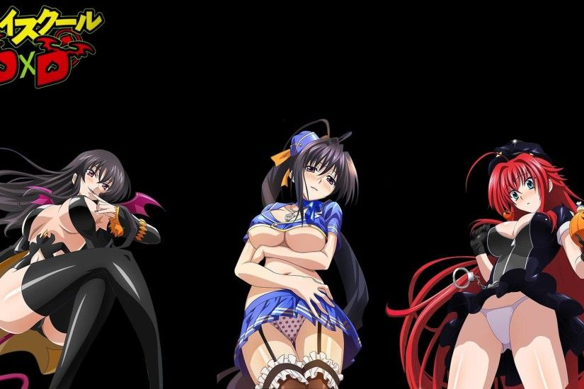 Are These Costumes To Revealing? Should We Change Them? (Highschool DxD)[1920x1080]  ...