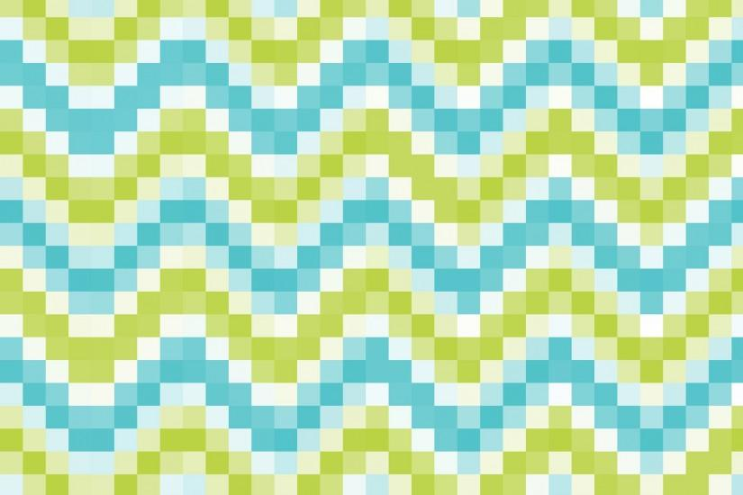 Mosaic Tiles Blue Green Background