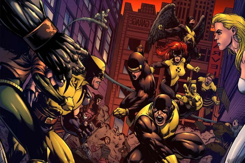 X-Men Wolverine superheroes men modern Cyclops wallpaper