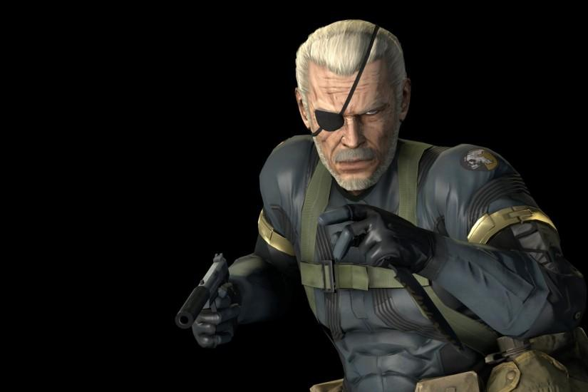 Ground zeroes Big Boss model with old snake's head ...