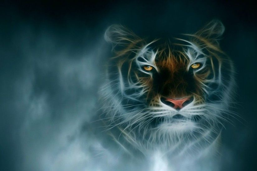 Fantasy Tiger Wallpaper HD