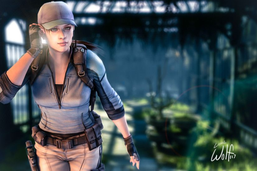 ... Jill Valentine: Secret Garden by LoneWolf117