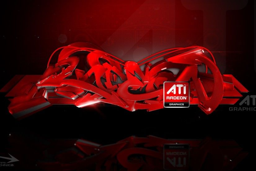 Preview wallpaper ati, radeon, logo, graphics, abstract 1920x1080