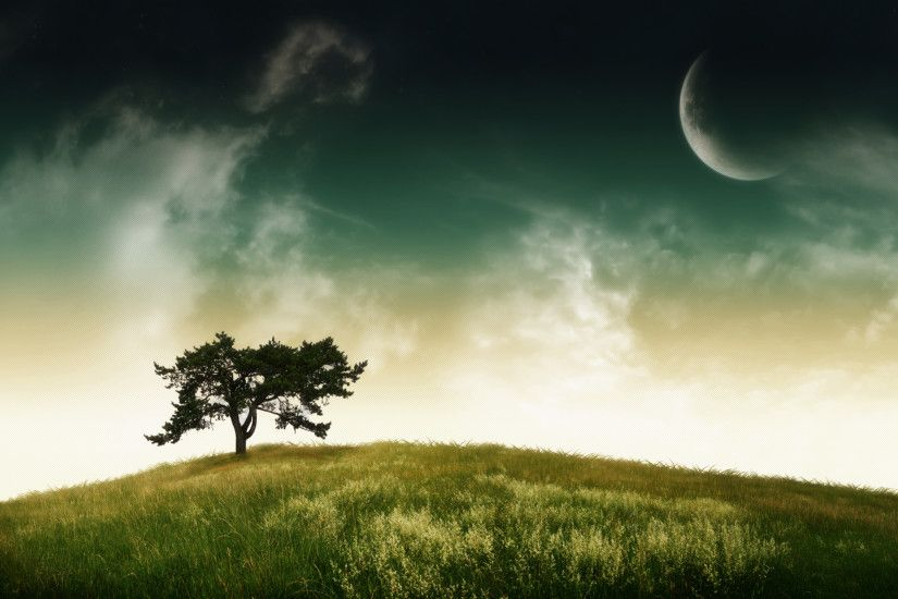 Digital Landscape Wallpaper (74 Wallpapers) – HD Wallpapers abstract ...