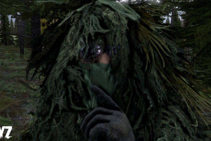 DayZ Wallpaper – Ghillie [1080p]