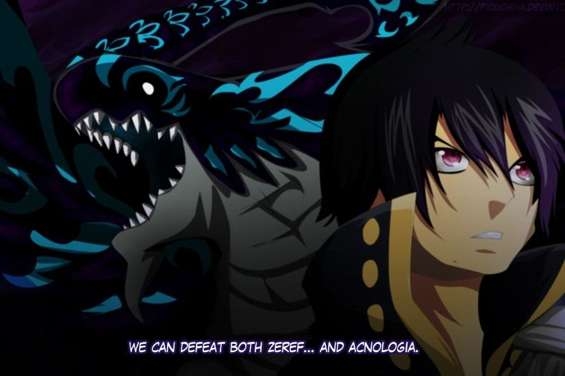Wallpapers Zeref And Acnologia By Piouchiha Dhk . 3000x1716 .