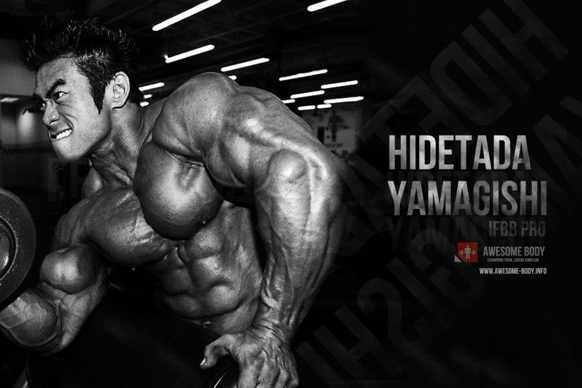 Hidetada Yamagishi Wallpaper HD | Awesome Bodybuilder HD Wallpaper