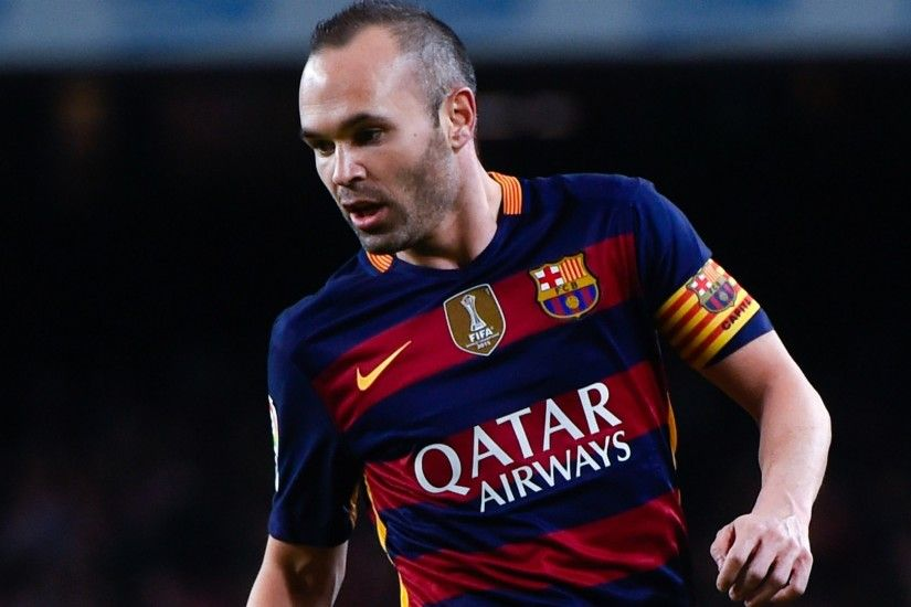 Spanish Footballer Andres Iniesta HD Images