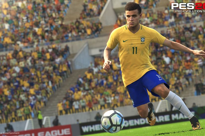 To celebrate his announcement as an Ambassador, Coutinho will also be the  cover star on the Brazilian Package of PES 2018.