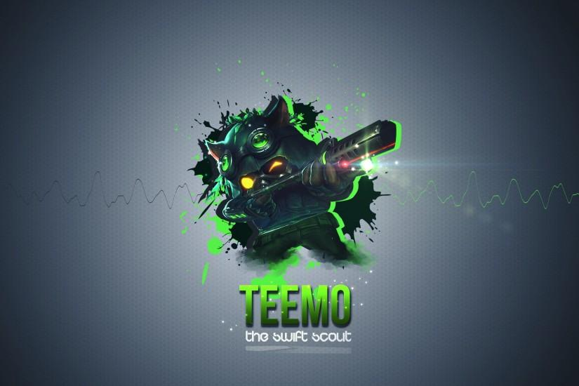 5 Omega Squad Teemo Wallpapers - I need your opinion please :3 .