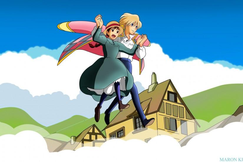amazing howls moving castle wallpaper 2560x1440 samsung galaxy