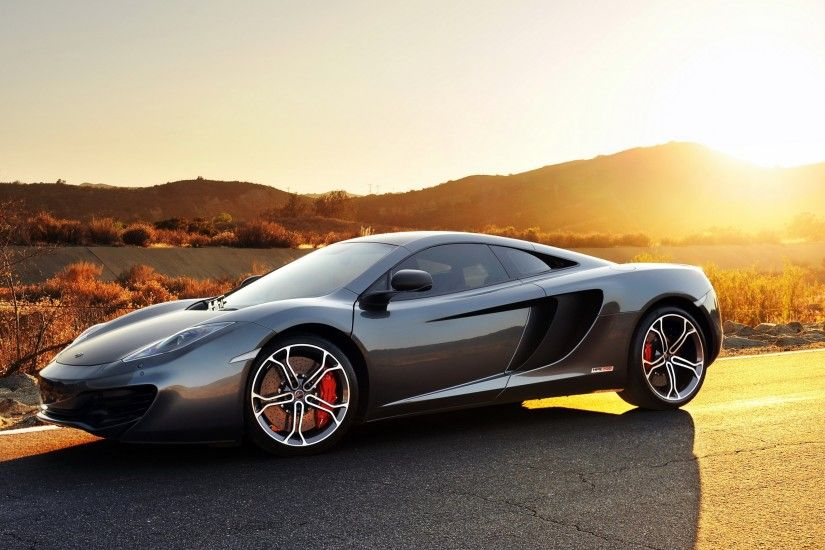 Preview wallpaper mclaren, mp4-12c, sport, car, supercar, gray,