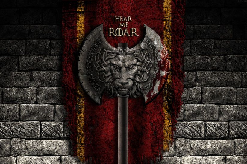 Game of Thrones Wallpaper - House Lannister by digitalwolf-pl
