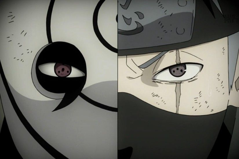 Download Kakashi vs Obito wallpapers to your cell phone kakashi