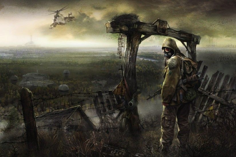 S.T.A.L.K.E.R Radiation Radioactive Helicopters Apocalyptic · minimalistic  nuclear radioactive