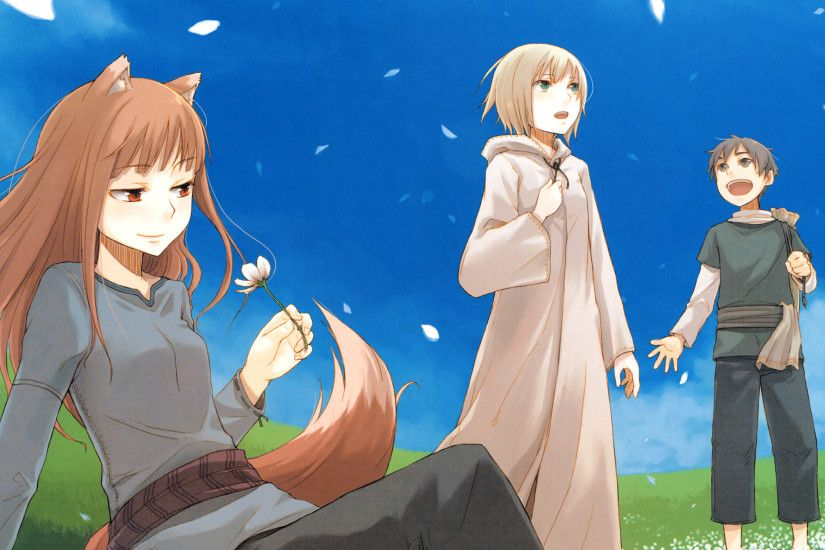 Anime Spice And Wolf Anime Spice Wolf Wallpaper