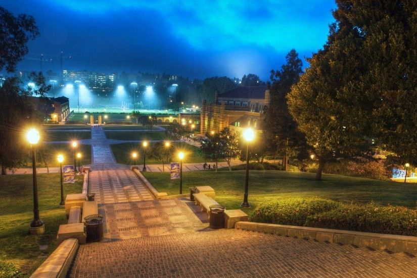 Campus of ucla in westwood los angeles wallpaper