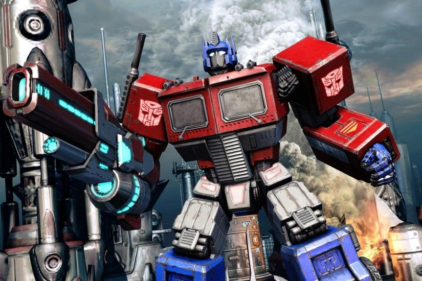 Optimus Prime Fall Of Cybertron