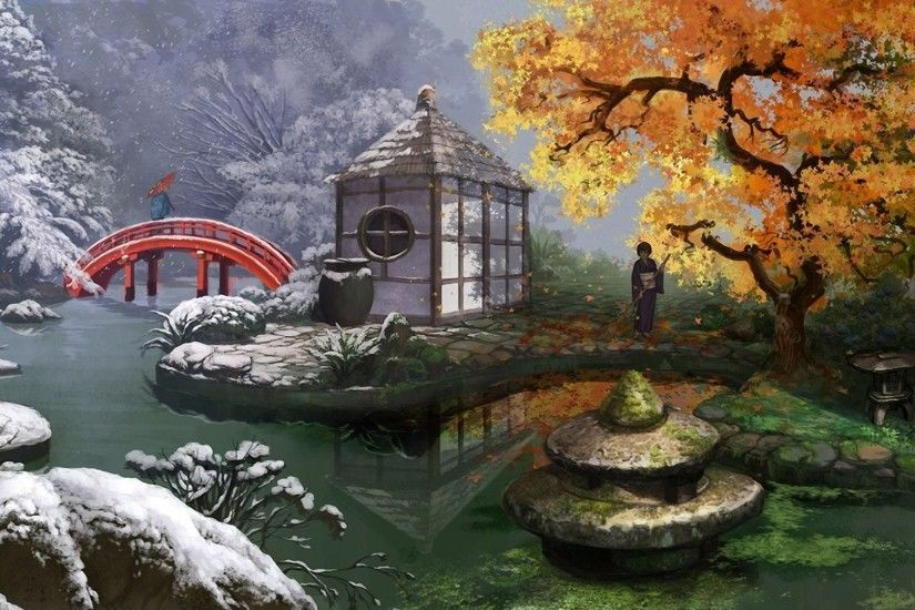 Japanese Tea Garden Wallpapers Photo with Wallpaper High .