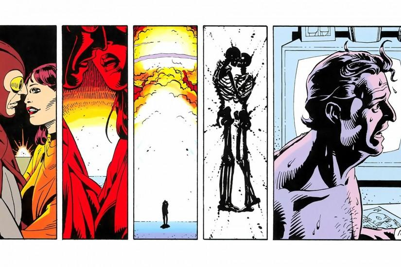 Just some nice Watchmen wallpaper art for you from Alan Moore's and Dave  Gibbon's comic masterpiece Watchmen (DC Comics, 1986/87)