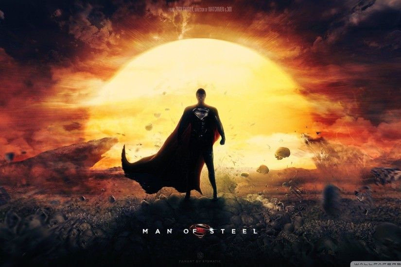 Man Of Steel Wallpaper Superman Movie Wallpaper Full HD [1920x1080 .