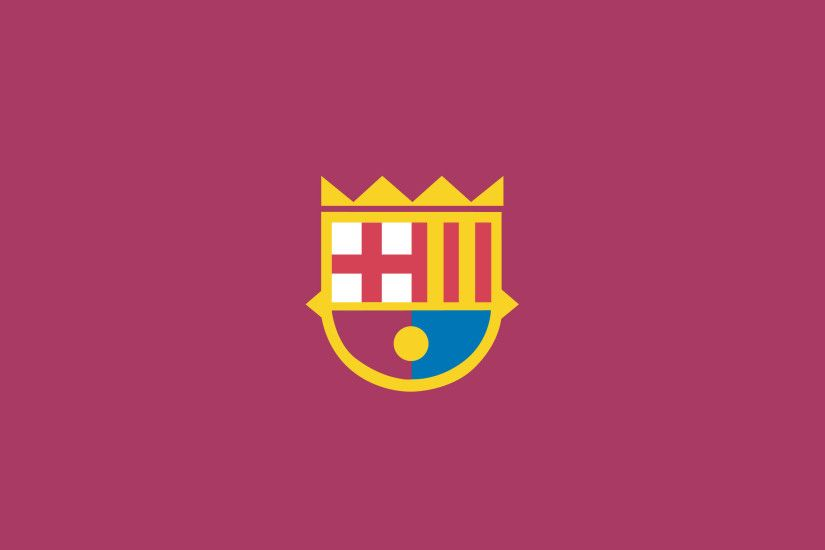 I made a flat design FCB wallpaper.