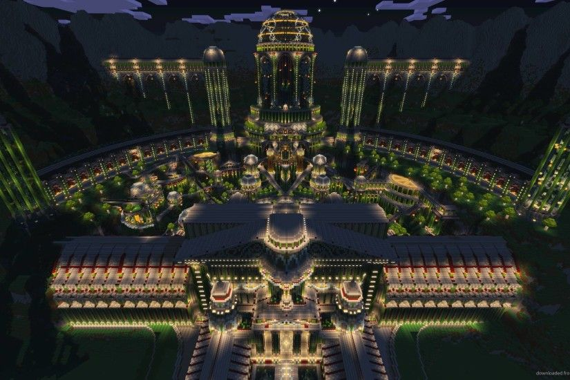 Download Minecraft Turn On The Bright Lights Wallpaper 1920x1080PX .