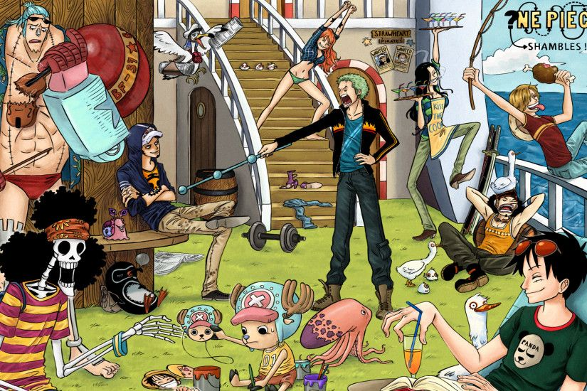 Explore One Piece Anime, Straw Hats, and more!