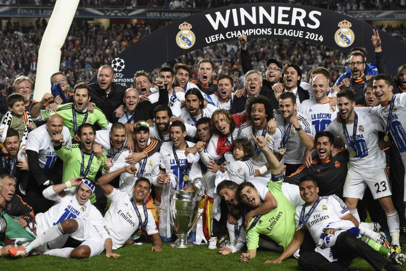 Real Madrid winners Champions League 2014 wallpaper