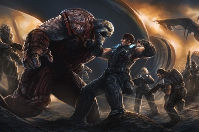 Gears Of War 3 Hd Wallpapers For Ipad: Gears Of War Wallpaper ·① Download Free Cool Wallpapers