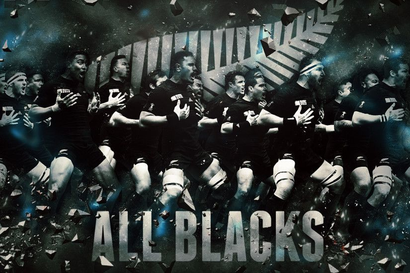 New Zealand All Blacks 2015 Rugby World Cup Wallpaper.