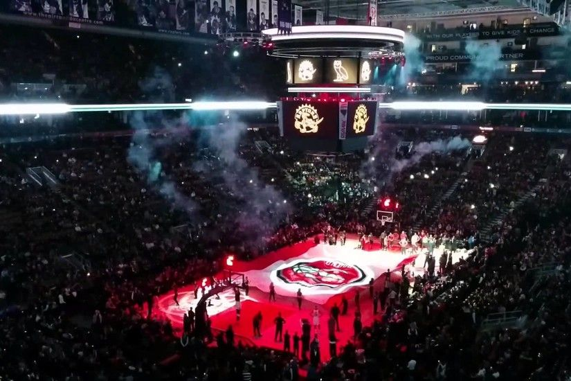 Toronto Raptors Drake Night Player Introductions