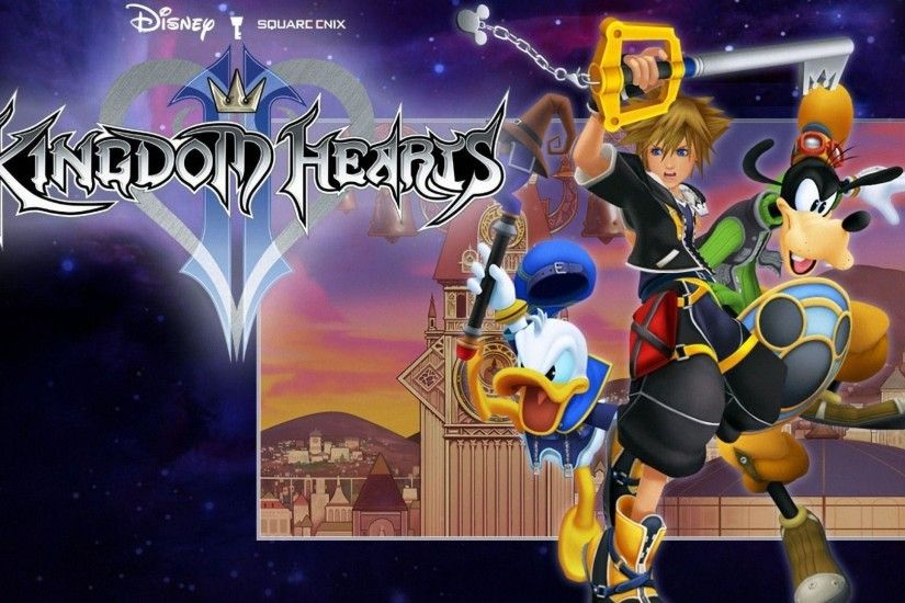 Wallpapers For > Kingdom Hearts 2 Wallpaper 1920x1080