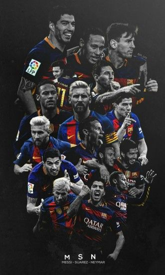Barcelona, messi, and suarez image