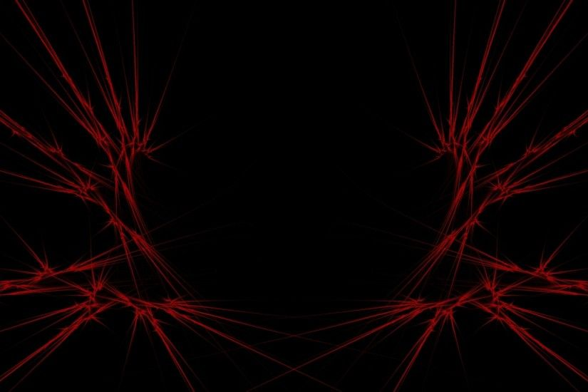 1920x1080 Wallpaper red, black, abstract