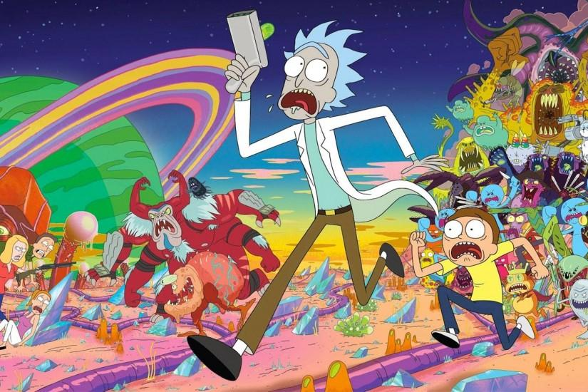 popular rick and morty wallpaper 1920x1080 windows xp