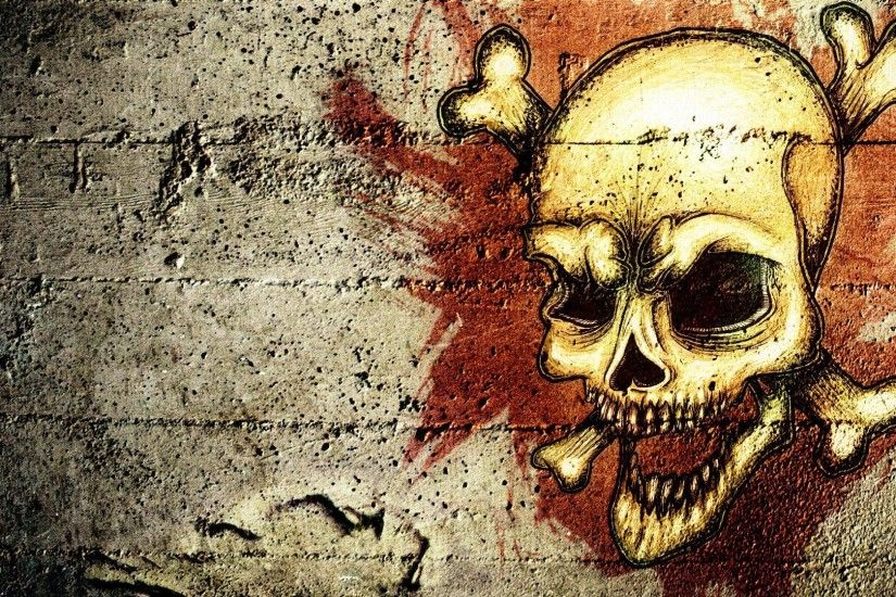Images For > Skull Wallpaper Hd Download