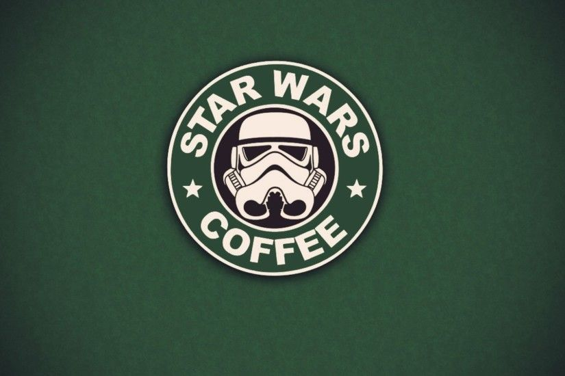 star wars stormtroopers coffee starbucks 1920x1080 wallpaper