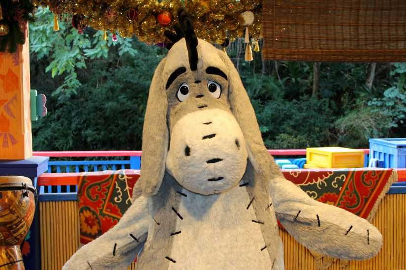 Eeyore at christmas images.