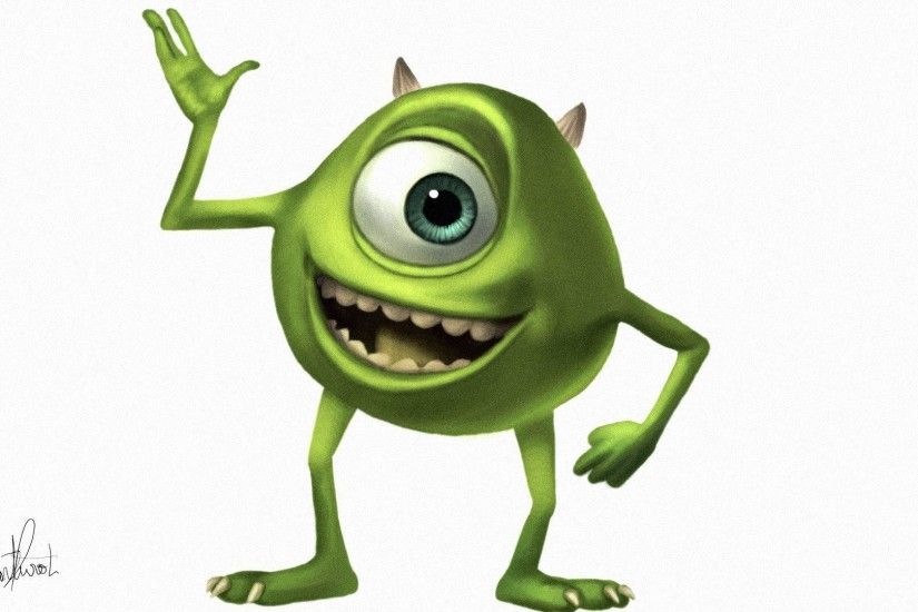 Images For > Mike Wazowski Wallpaper