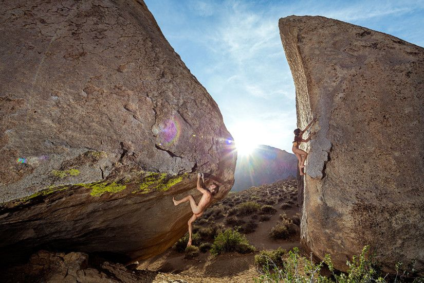Chris Sharma & Daila Ojedo…Nude. Golden Boy Climbing Legend joins ESPN's  Athlete's for Annual Phototacular.