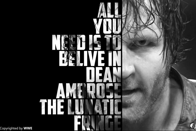 Dean Ambrose Wallpaper by Arunraj1791 Dean Ambrose Wallpaper by Arunraj1791