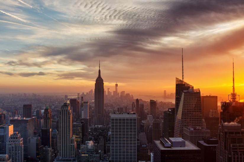 New York City Wallpaper Sunset | wallpaper, wallpaper hd, background .