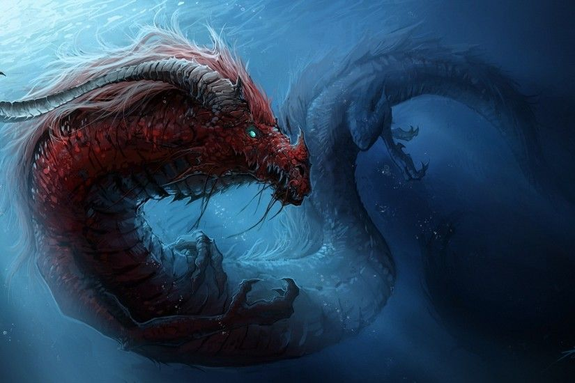 Dragons Underwater world Chinese dragon wallpaper | 1920x1114 | 133726 .