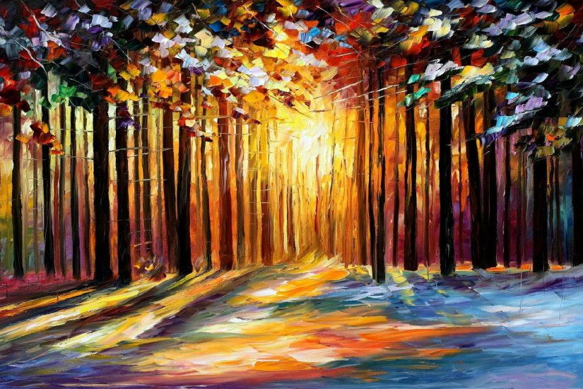 Leonid Afremov impressionistic art and paintings (6)