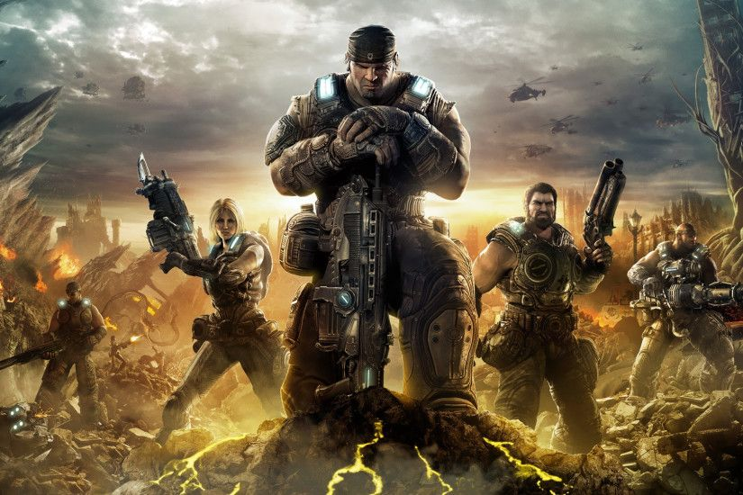 ... gears of war 3 wallpaper wallpapersafari ...