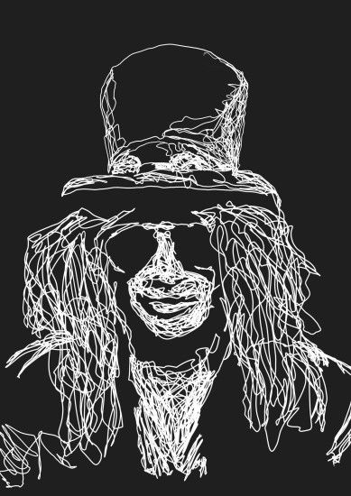 ... Slash [from Guns'n'Roses] by ...