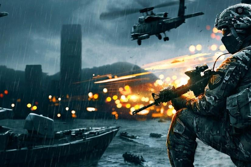 Preview wallpaper battlefield 4, game, ea digital illusions ce 2560x1080