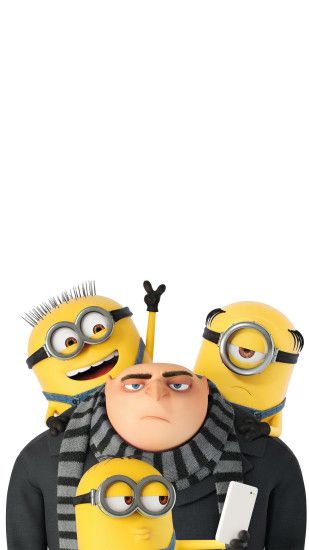 ... 1080x1920 Minions And Gru Despicable Me 3