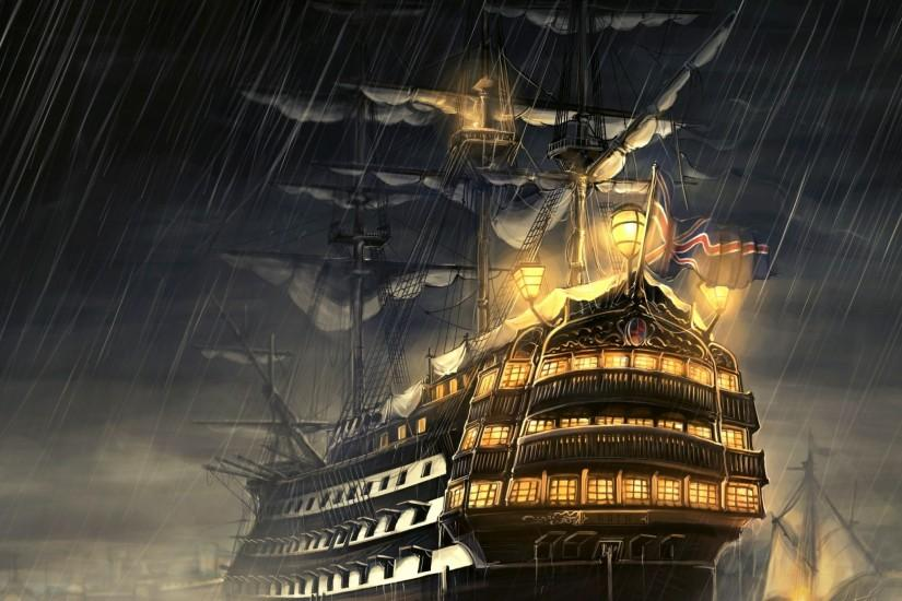 Pirate ship [3] wallpaper - Fantasy wallpapers - #37584